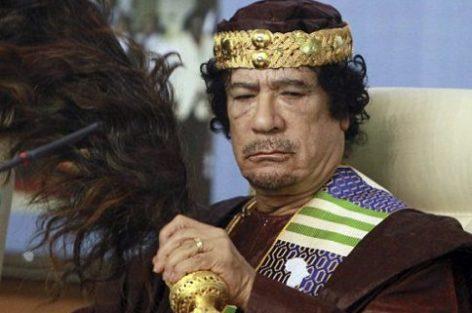 جدل واسع حول نسب الراحل الليبي معمر القذافي!