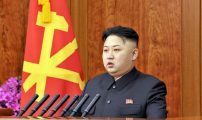 بالصور.. الزعيم الكوري يقوم بخطوة لم يسبق أن قام بها أحد من رؤساء العالم..!!