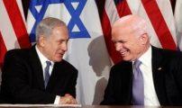 """نتنياهو يشيد بمكين: كان """"صديقا عظيما لإسرائيل"""""""
