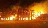 حريق يأتي على 1700 شجرة بواحة ألوكوم بإقليم طاطا