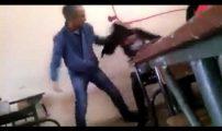 عاجل.. اعتقال أستاذ خريبكة الذي ظهر في فيديو يعنف أحد تلميذاته