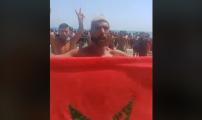 محتجون بالسعيدية يعتصمون لأزيد من خمس ساعات بسبب منعهم من استغلال الشاطئ