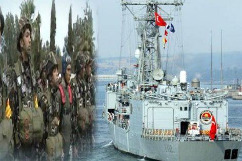الجيش المغربي يعترض سفينة تركية والاعلان عن حالة الاستنفار