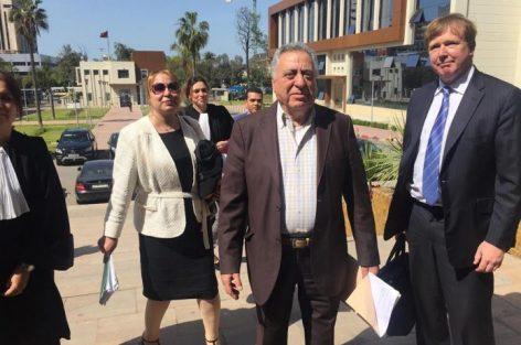 """عاجل..القاضي لشارية محامي أمل الهواري: """"أنت وضعيتك نشاز"""" وزيان يحتج"""