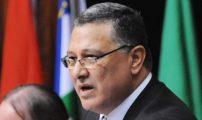 """"""" المنصوري """"سياسي مغربي، تزعم حزب التجمع الوطني للأحرار، وترأس مجلس النواب (الغرفة الأولى في البرلمان المغربي)."""