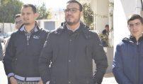 وقفة احتجاجية أمام عمالة الناظور بمعية جمعية الطلبة الجامعيين ومنخرطيها
