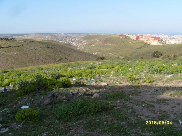 تلويث البيئة ببني شيكر ضواحي الناظور (1)