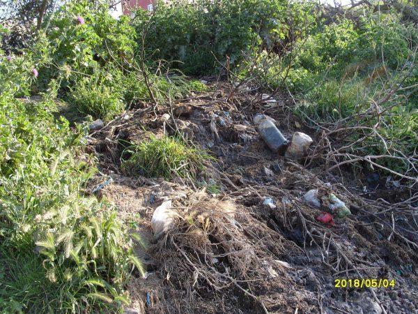 تلويث البيئة ببني شيكر ضواحي الناظور (16)