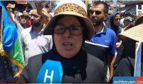 والدة أحمجيق: معتقلو حراك الريف يستحقون الأوسمة (فيديو)