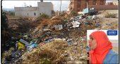 الأزبال والقاذورات تحاصر منازل ساكنة مركز جماعة بني سيدال الجبل ورئيس المجلس منشغل بالسفريات