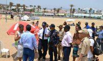 السلطات تشن حملة لتحرير الملك البحري بشاطئ أكادير (صور)ضتصغير الخط