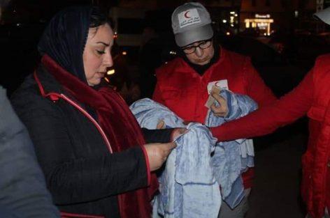 جمعية نحن معا لخدمة القرب والتنمية الاجتماعية تطلق حملة دفء بالناظور وتوزع مساعدات على المتشردين