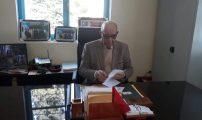 محمد بندحمان رئيس جماعة تفرسيت يقوم بزيارة تفقدية للمشاريع قيد الانجاز