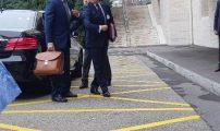 عاجل بالفيديو والصور : وصول الوفد المغربي المشارك بالمائدة المستديرة بجنيف لقصر الأمم