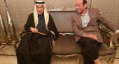 """خليفة رئيس مجلس المستشارين الأستاذ """" عبد القادر سلامة """" يستقبل رئيس مجلس الشورى القطري"""
