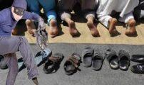 استفحال ظاهرة سرقة الأحذية بمسجد الحسن الثاني بلعري الشيخ..ولجنة المسجد تقاعست في تشغيل الكاميرات.