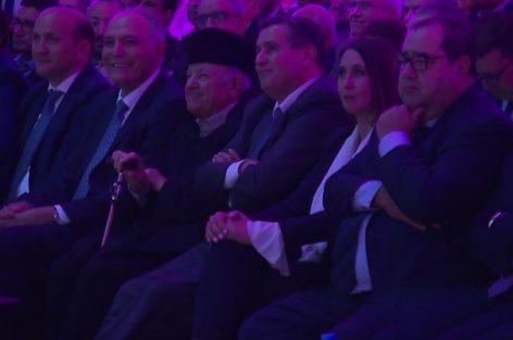 """أيت إيدر وأخنوش ومنيب ولشكر ومزوار في مؤتمر """"الاتحاد المغربي للشغل"""""""