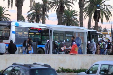 """العاصمة الرباط تتخبط في مشاكل النقل العمومي بعد إضراب مستخدمي """"ستاريو"""""""
