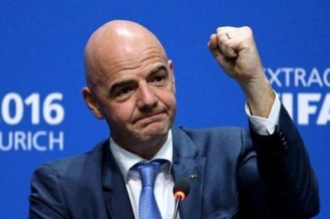 السويسري انفانتينو رئيسا للفيفا لولاية جديدة إلى غاية 2023