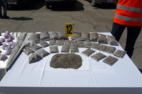 بالفيديو و الصور : حجز 48.000 قرص من مخدر الاكستازي بحوزة ثلاثة أفراد و اعتقال أربعة اخرين ببن الطيب