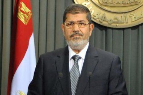 وفاة الرئيس المصري الأسبق محمد مرسي أثناء جلسة محاكمته