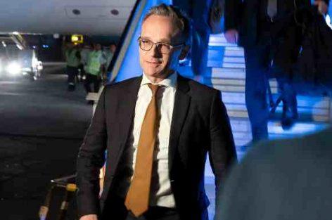 وزير الخارجية الألماني يصل إلى إيران بعد الاردن والامارات في محاولة تهدف إلى إنقاذ الاتفاق النووي