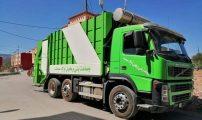 رئيس بني وكيل اولاد محاند يبادر في جمع أزبال مدينة الناظور بشاحنة تصل حمولتها لي 30 طن