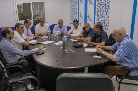 أوجار يعقد اجتماعا مع منسقي جهة الشرق بوجدة ويترأس لقاء تواصليا ببيت هوار