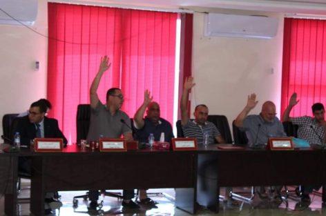 عبد السلام الطاوس يترأس دورة استثنائية لمجلس جماعة ميضار ضواحي الدريوش