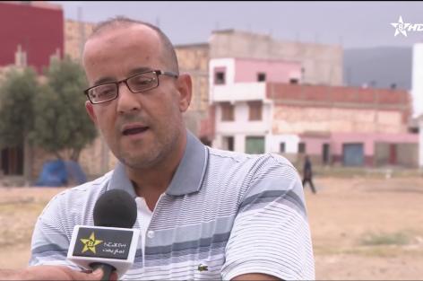 مشاكل البنية التحتية بحي اولاد بوطيب بمدينة الناظور على القناة الأمازيغية