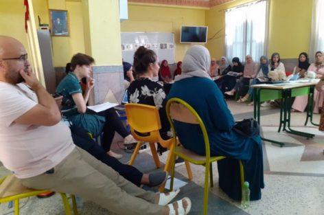 دورة تكوينية لدعم قدرات العاملين في مجال ذوي الاحتياجات الخاصة بإقليم الدريوش –