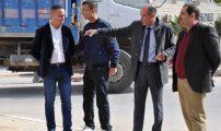 رفقة المنتخبين ــ زيارة ميدانية لرئيس مجلس بلدية الدريوش لمعاينة وتيرة سير المشاريع بالمدينة
