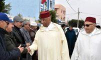 الدريوش ـ أنشطة مكثفة للسيد العامل بجماعة ثفرسيت رفقة رئيس المجلس الجماعي بندحمان