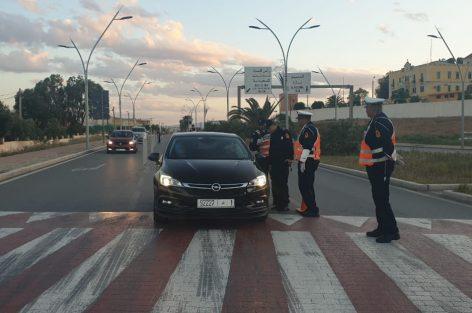 جهاز الأمن الإقليمي بالناظور وبجميع قدراته ينزل للشوارع من أجل القيام بالواجب الوطني –
