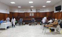 أسرة القضاء بالناظور تتبرع بالدم