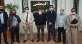 رئيس المجلس الإقليمي للناظور يستقبل المكتب الجديد للاتحاد الجهوي لنقابة الاتحاد المغربي للشغل بالمغرب