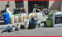 شرطة بني انصار توقف عصابة صنع الخمور